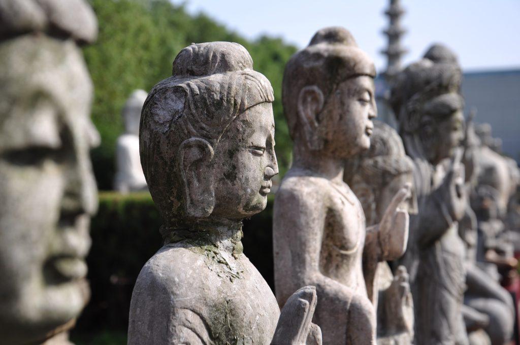 中国語、仏像、中国