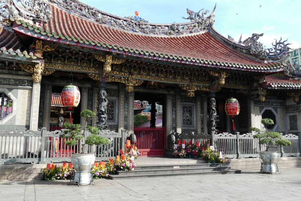 台湾 旅行 龍山寺